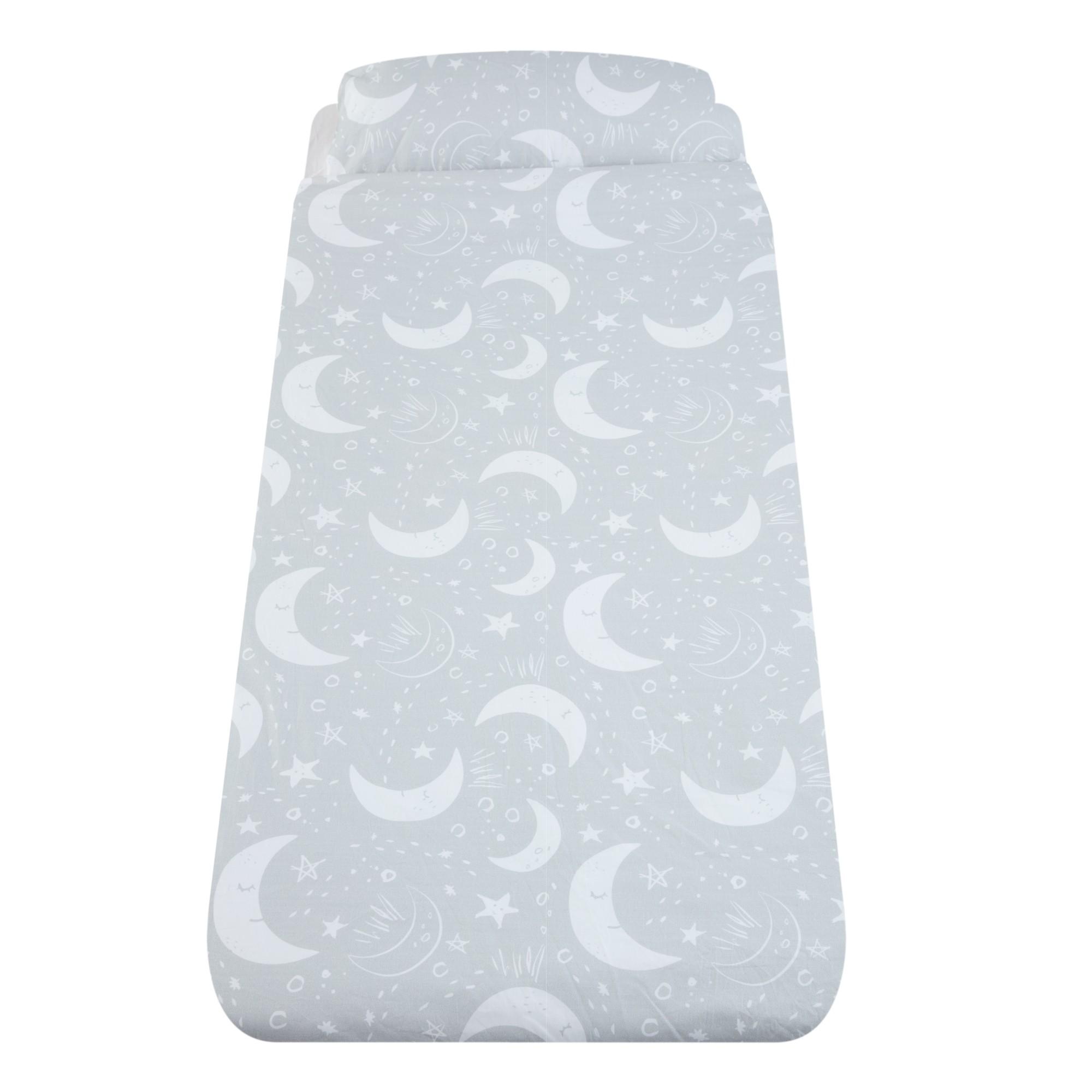 Lenjerie de pat, Luna, pentru pat cu saltea de 190 x 90 cm, Gro