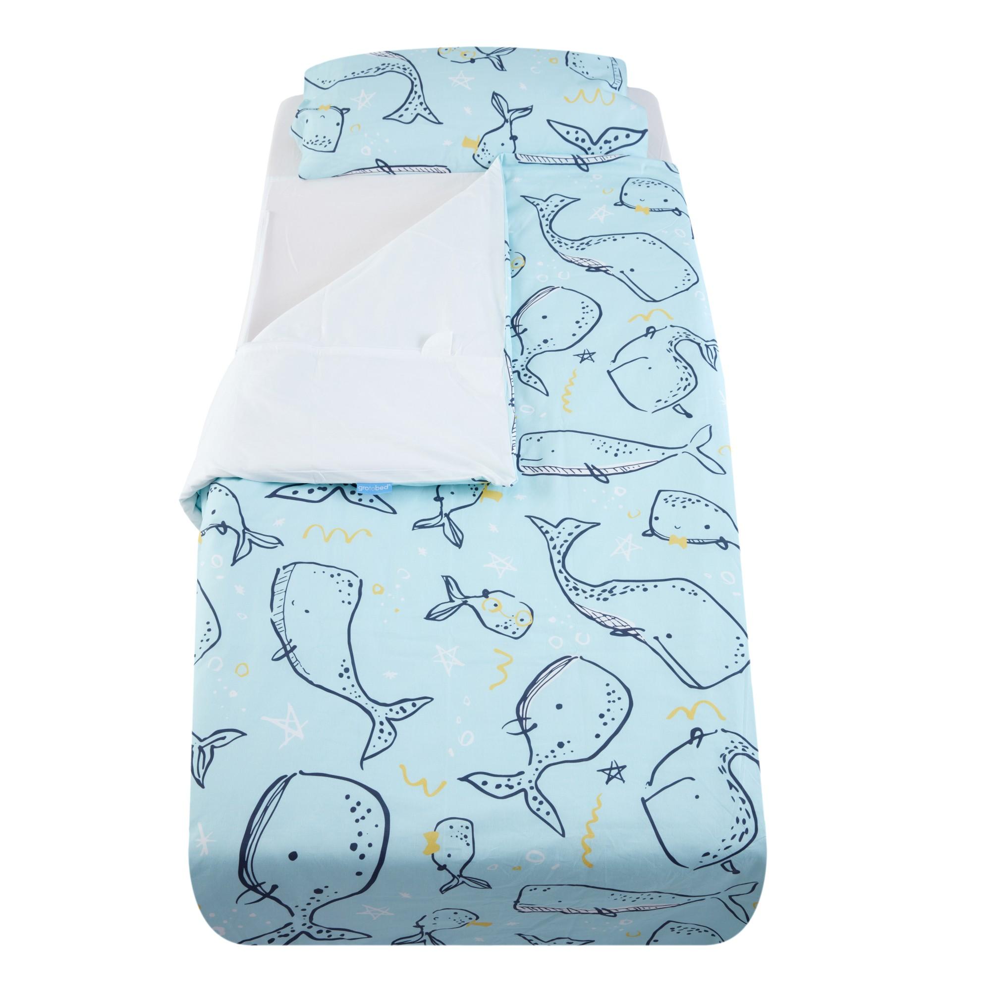 Lenjerie pentru pat, Balenuta, pentru pat cu saltea de 190 x 90 cm, Gro