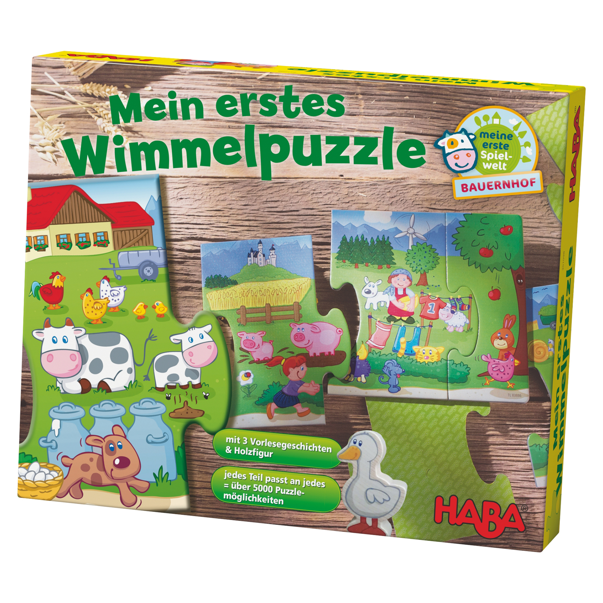 Primul meu Puzzle, Ferma, 2 ani+, HABA