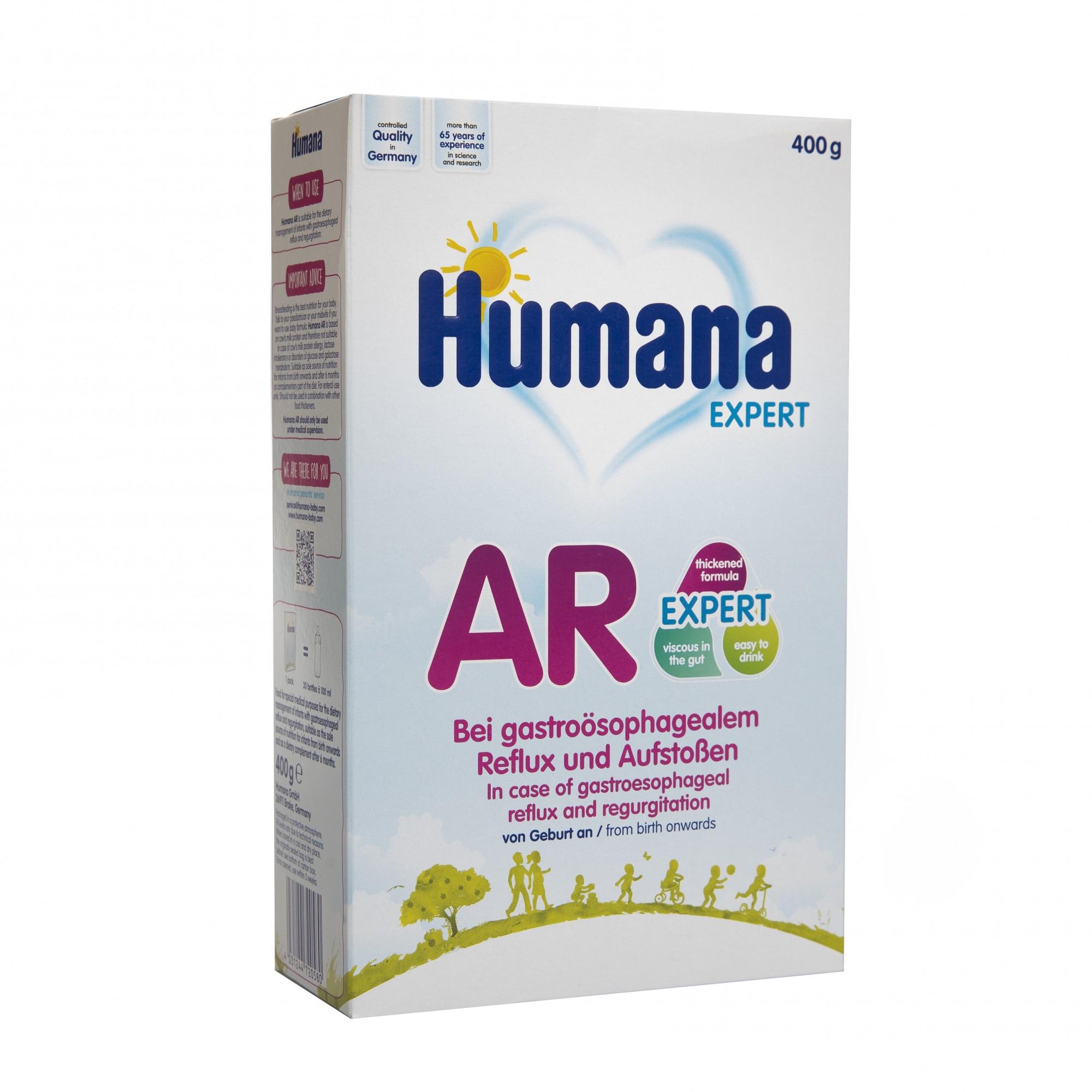 Lapte praf Humana AR Expert, 400 gr, 0 luni +