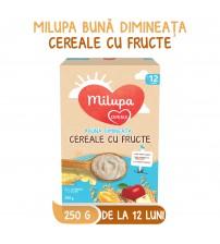 Milupa Buna Dimineata Cereale Integrale cu Fructe