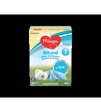 Lapte praf Milupa Milumil 1, 600g, de la 0-6 luni