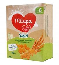 Biscuiti Milupa din faina de grau, Safari, 180g, 6luni+