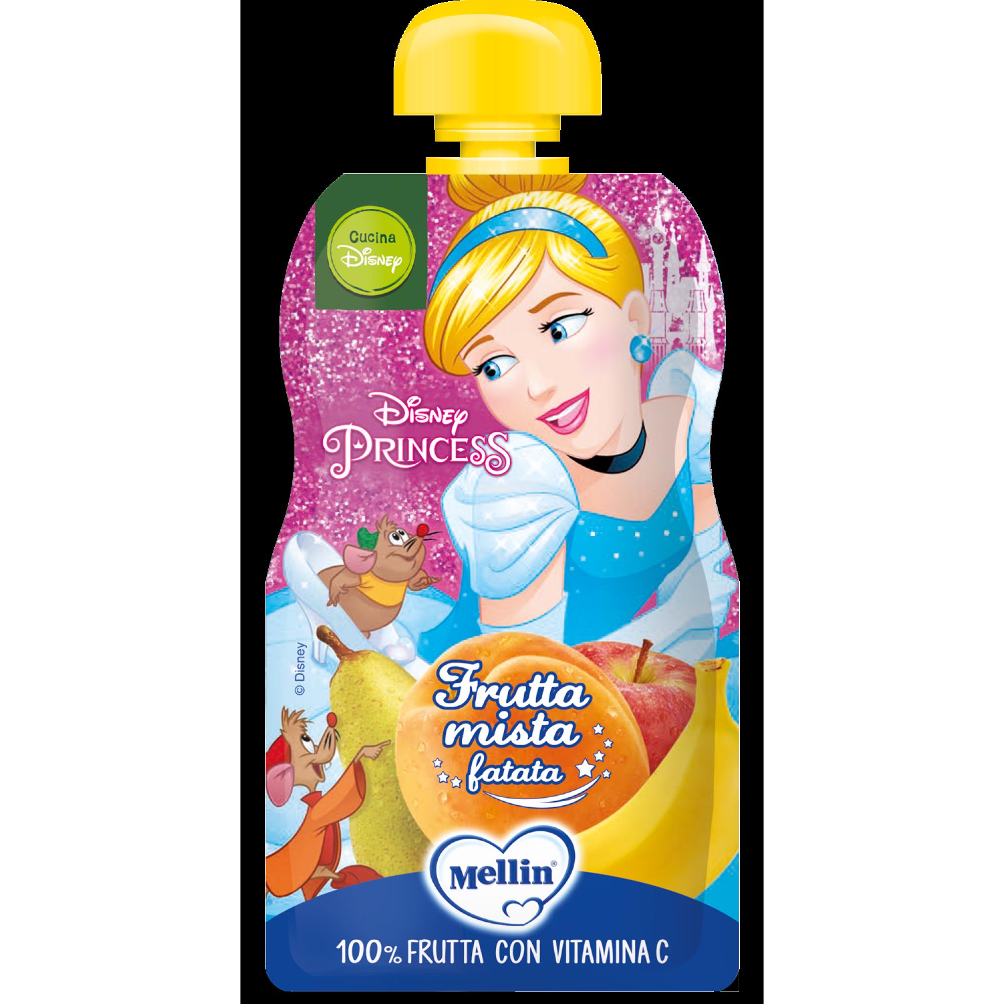 Piure Cocktail de Fructe, Milupa, Disney Princesses, 110g
