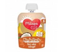 Mix de fructe (mere, banana, mango, cocos), Milupa, 90g