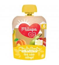 Piure de Fructe (mere, pere, banana, caise), Milupa, 90g