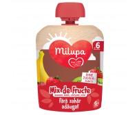Piure de Fructe (banane, mere, capsune, kiwi), Milupa, 90g