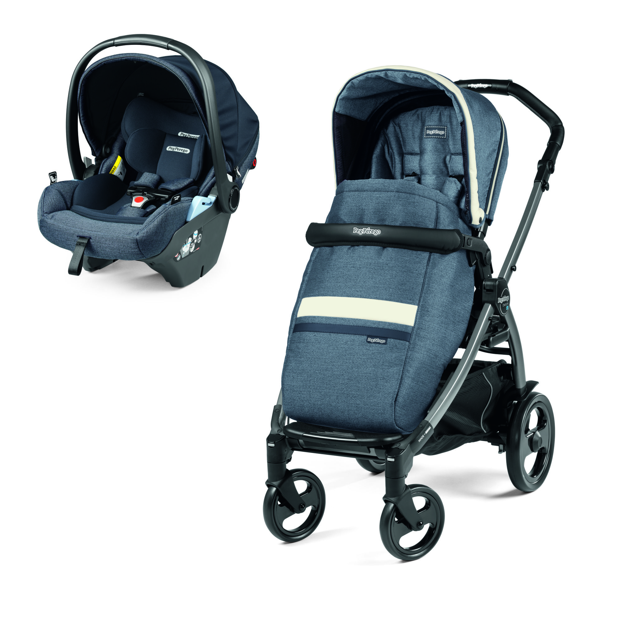 Carucior 2 in 1 Peg Perego, Book 51 Titania, Lounge, Luxe Mirage