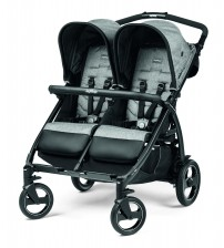Carucior Peg Perego, Book For Two, Cinder, 0 - 15 kg