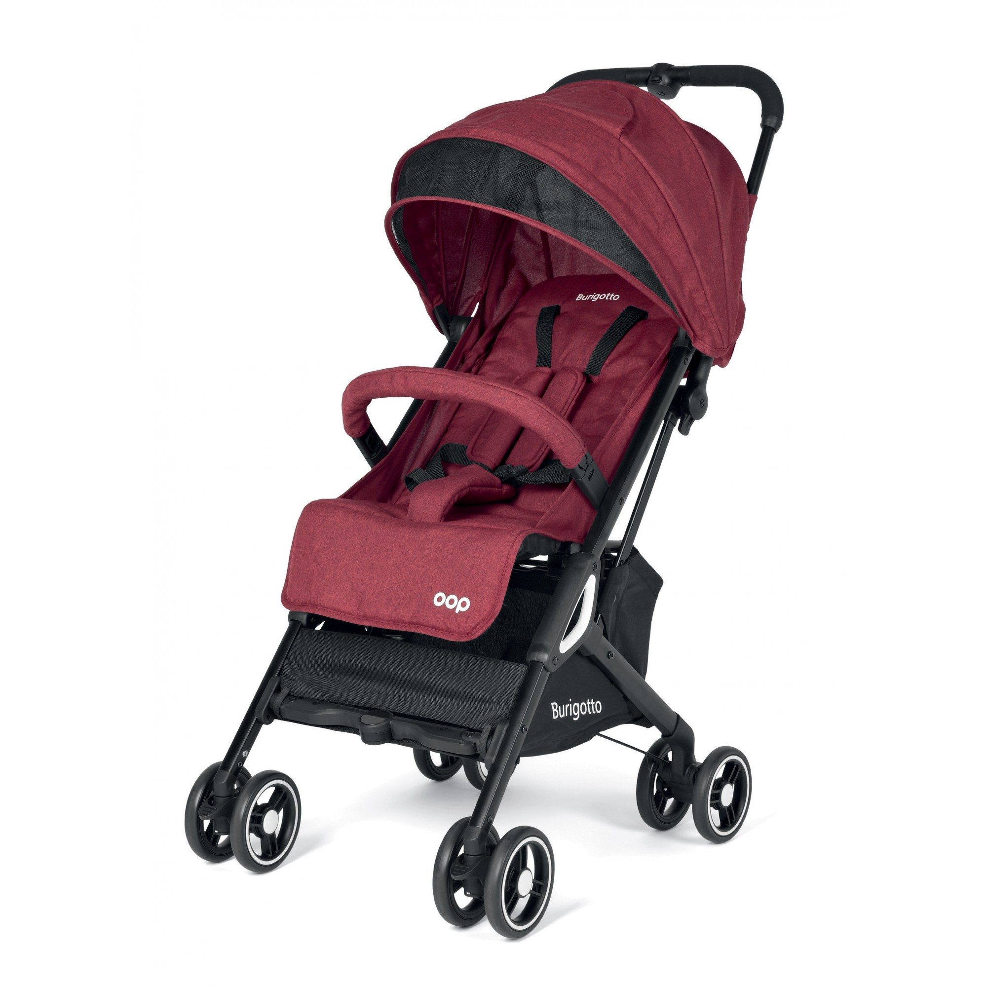 Carucior Burigotto by Peg Perego, Red, 0 - 22 kg