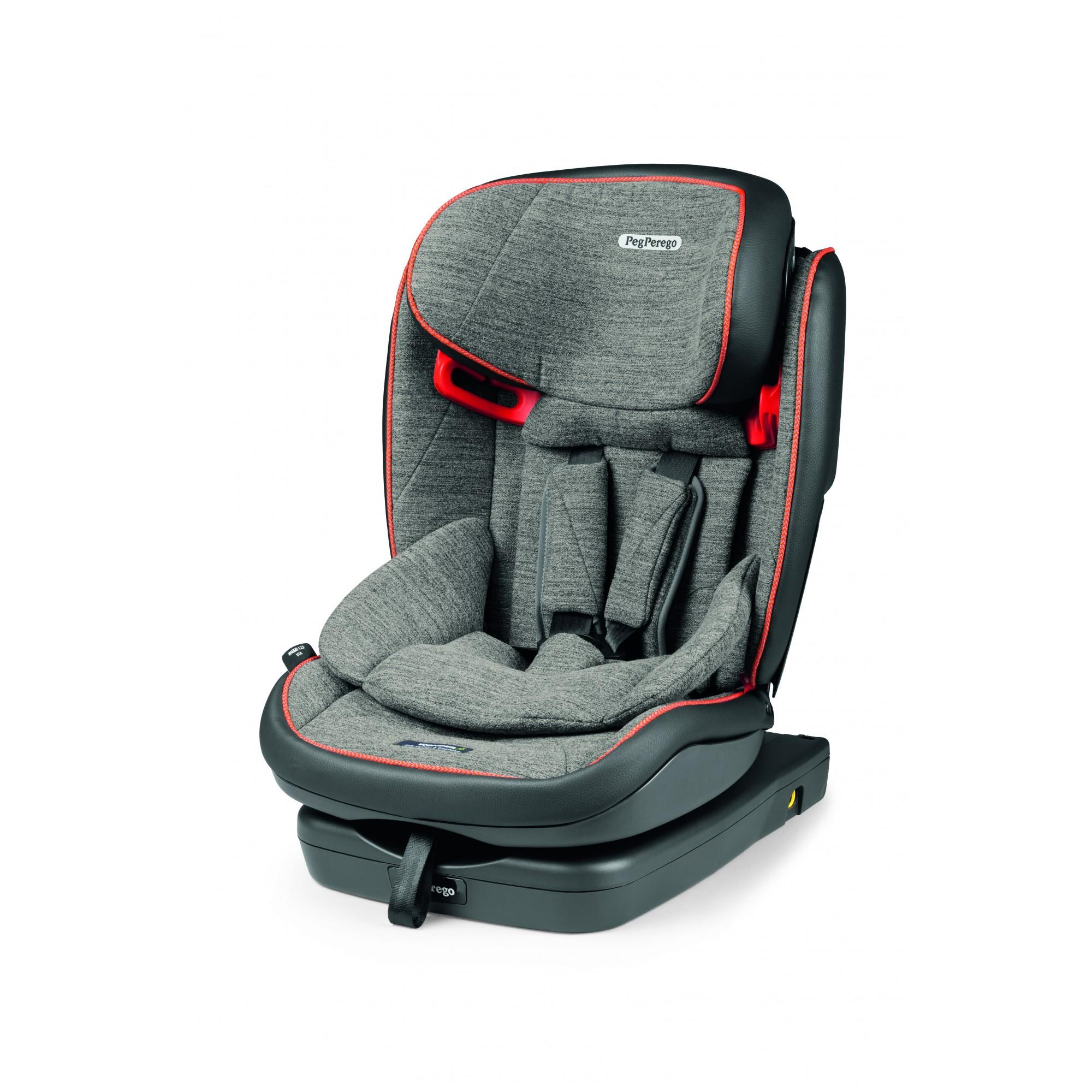Scaun Auto Peg Perego, Viaggio 1-2-3 Via, Wonder Grey, 9-36 kg
