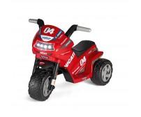 Motocicleta electrica Peg Perego Ducati Mini Evo, 6V, 1 an +, Negru/Rosu