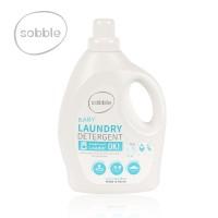 Detergent lichid de rufe pentru bebelusi Sobble, de origine vegetala, 1.5 l