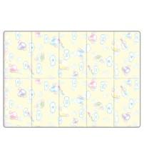 Saltea Sobble Marshmallow Dream, pliabila, 1.4m, 100% sigura, eco-friendly, Multicolor