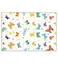 Saltea Sobble Butterfly World, pliabila, 1.4m, 100% sigura, eco-friendly, Multicolor