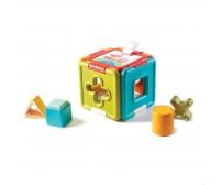 Jucarie educativa Puzzle si sortare Tiny Love, 6 luni+, Multicolor
