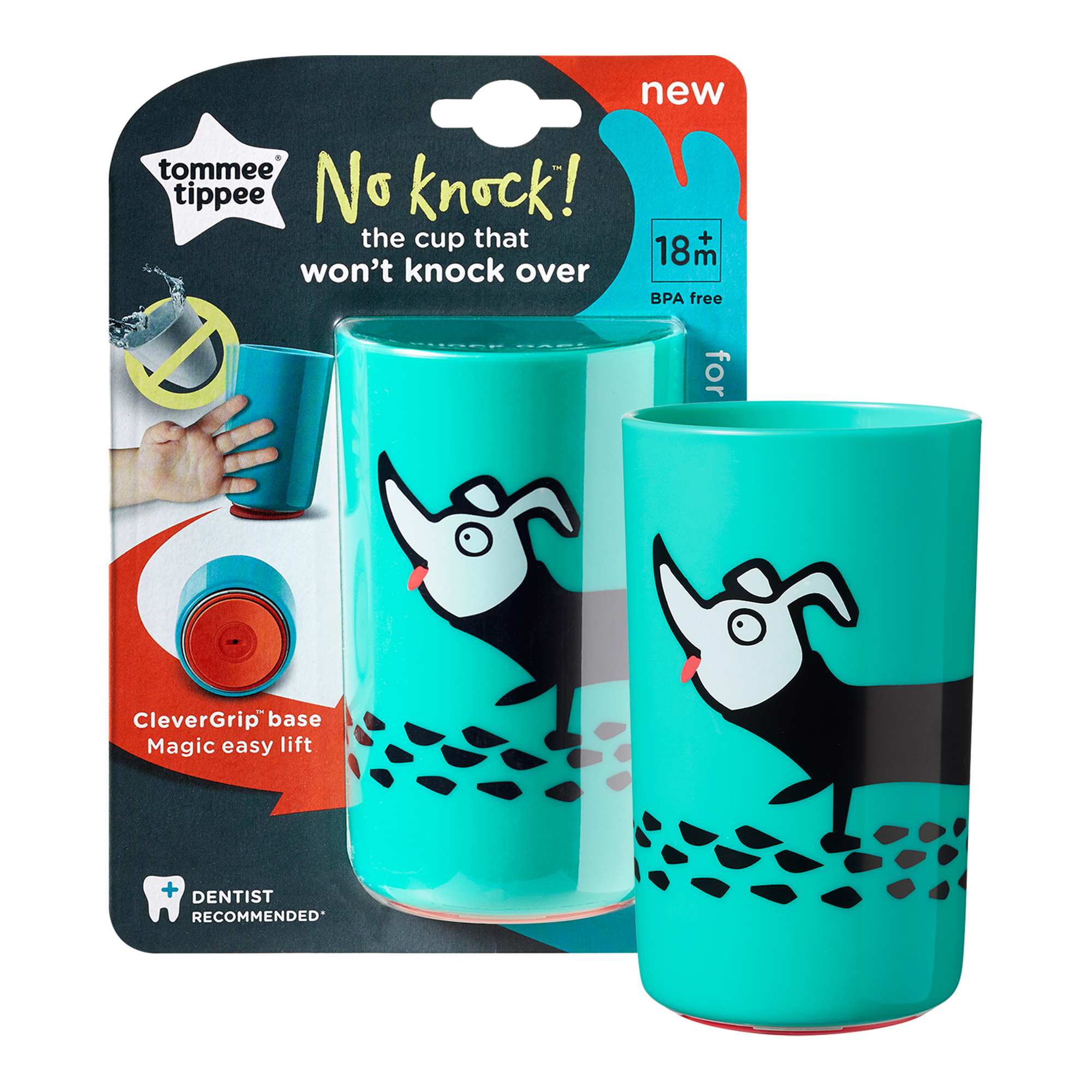 Cana No Knock Large, Tommee Tippee, 300 ml
