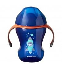 Cana Easy Drink, Tommee Tippee, 230 ml, 6luni+, Albastru
