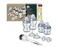 Kit biberoane nou-nascut Tommee Tippee Closer to Nature, 0 luni +, Bufnita