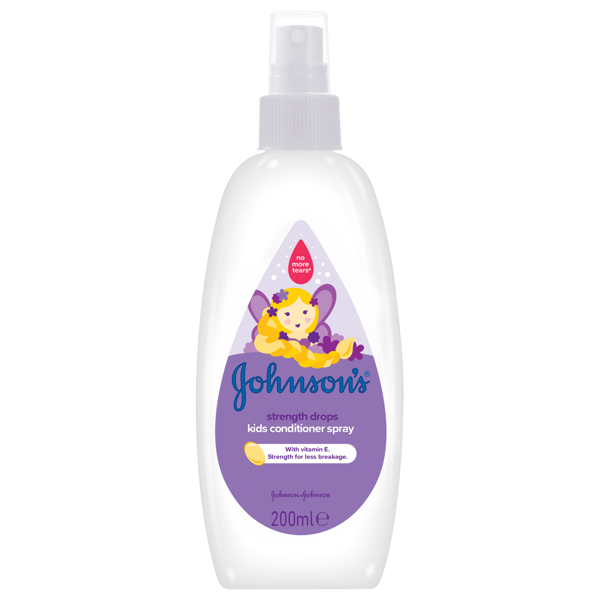 Balsam spray Johnson's Baby pentru par rezistent, 200 ml