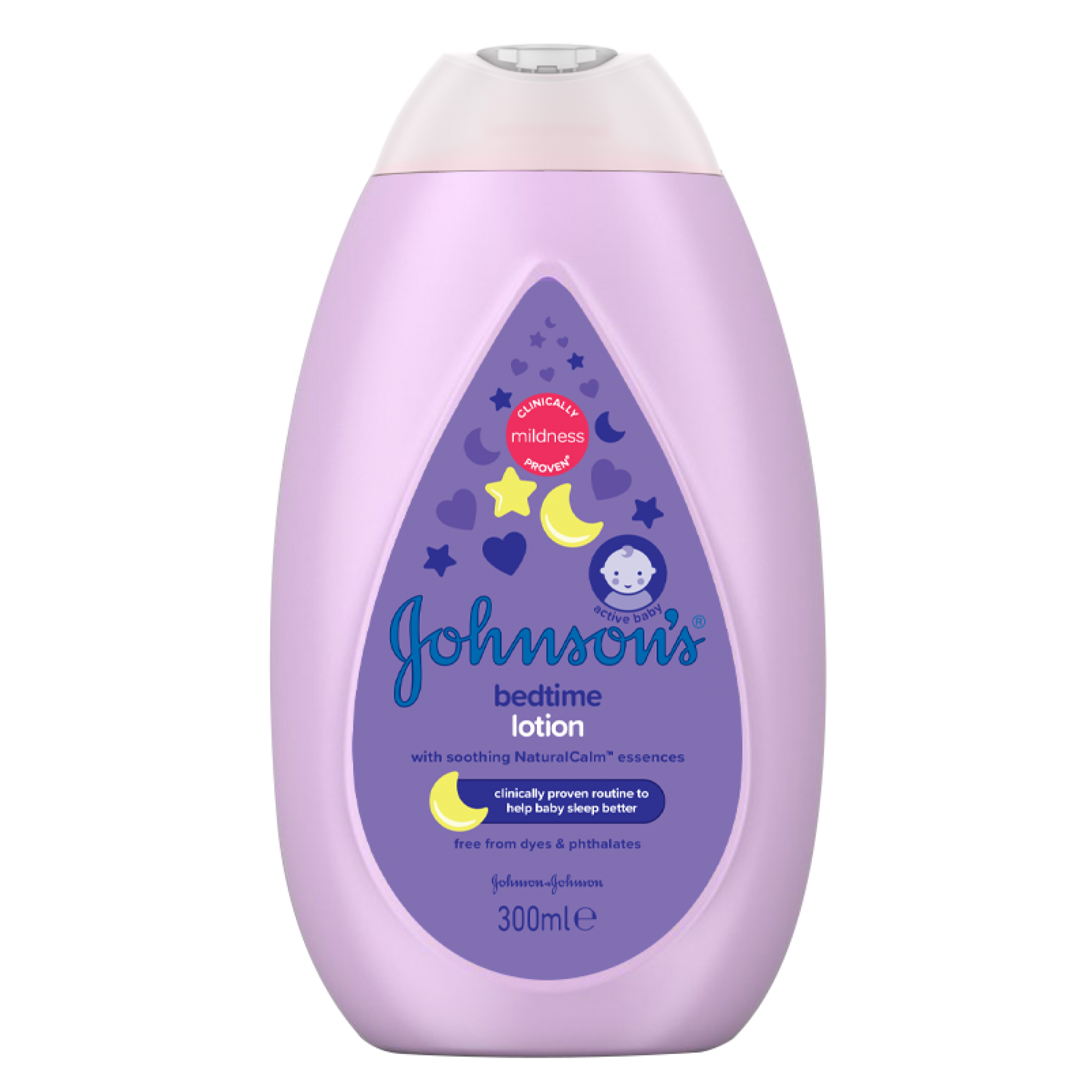 Lotiune de corp cu levantica Johnson's Baby Bedtime, 300 ml