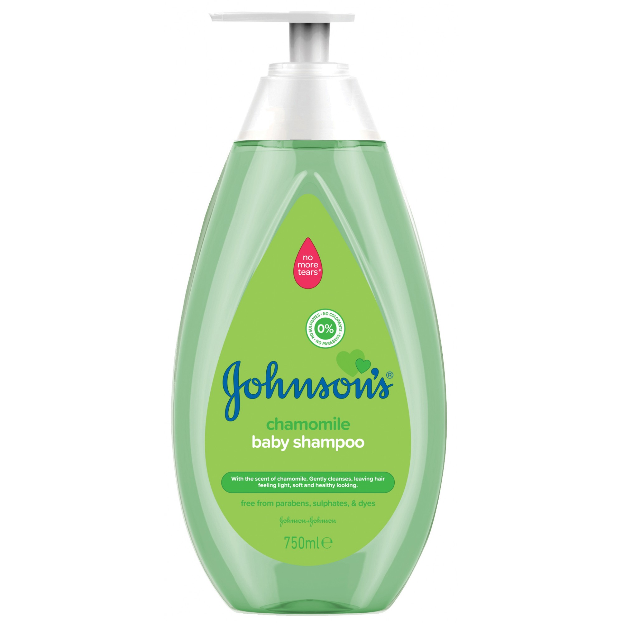 Sampon Johnson's Baby cu musetel, 750 ml