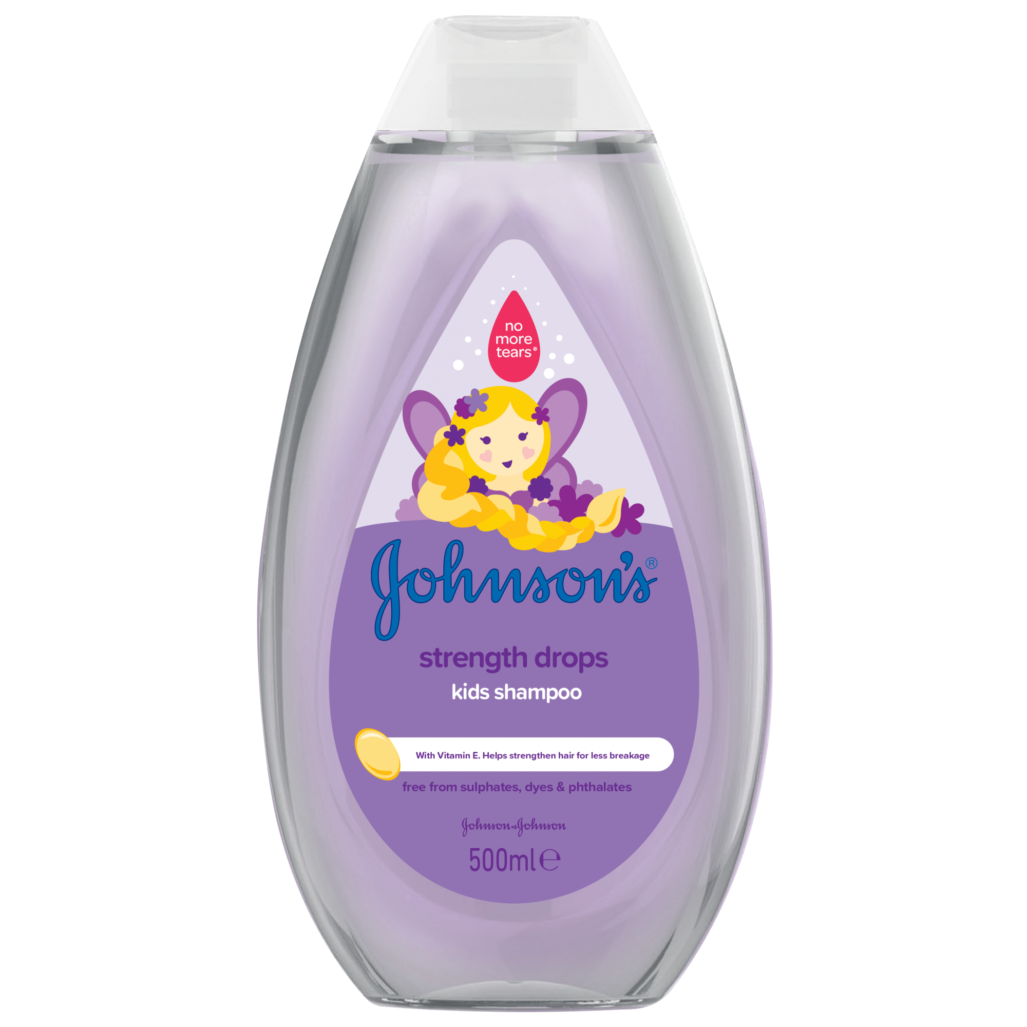 Sampon Johnson's Baby pentru par rezistent, 500 ml