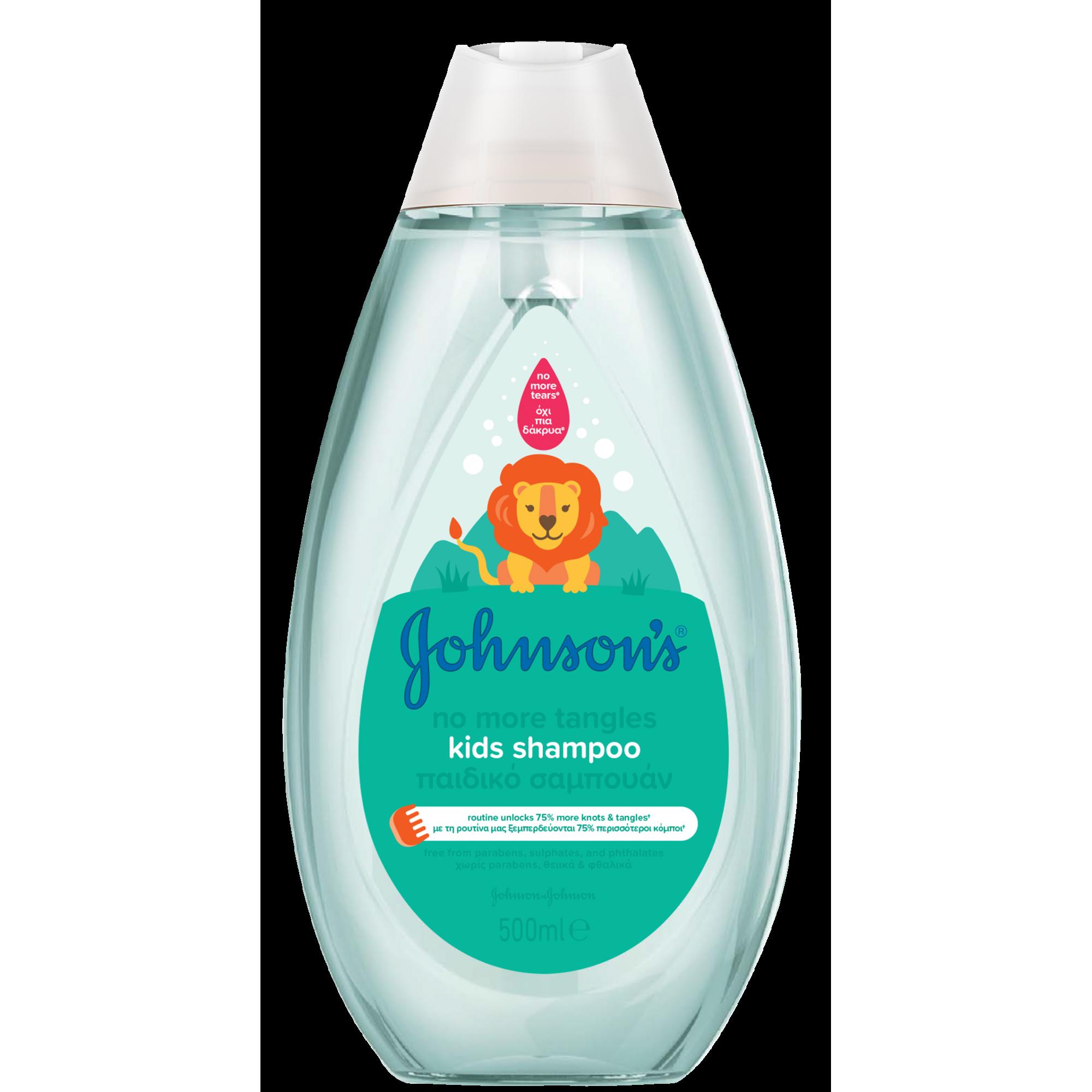 Sampon Johnson's Baby pentru descurcarea parului, 500 ml