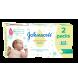 Servetele umede Johnson's Baby Cotton Touch, 2x56 buc