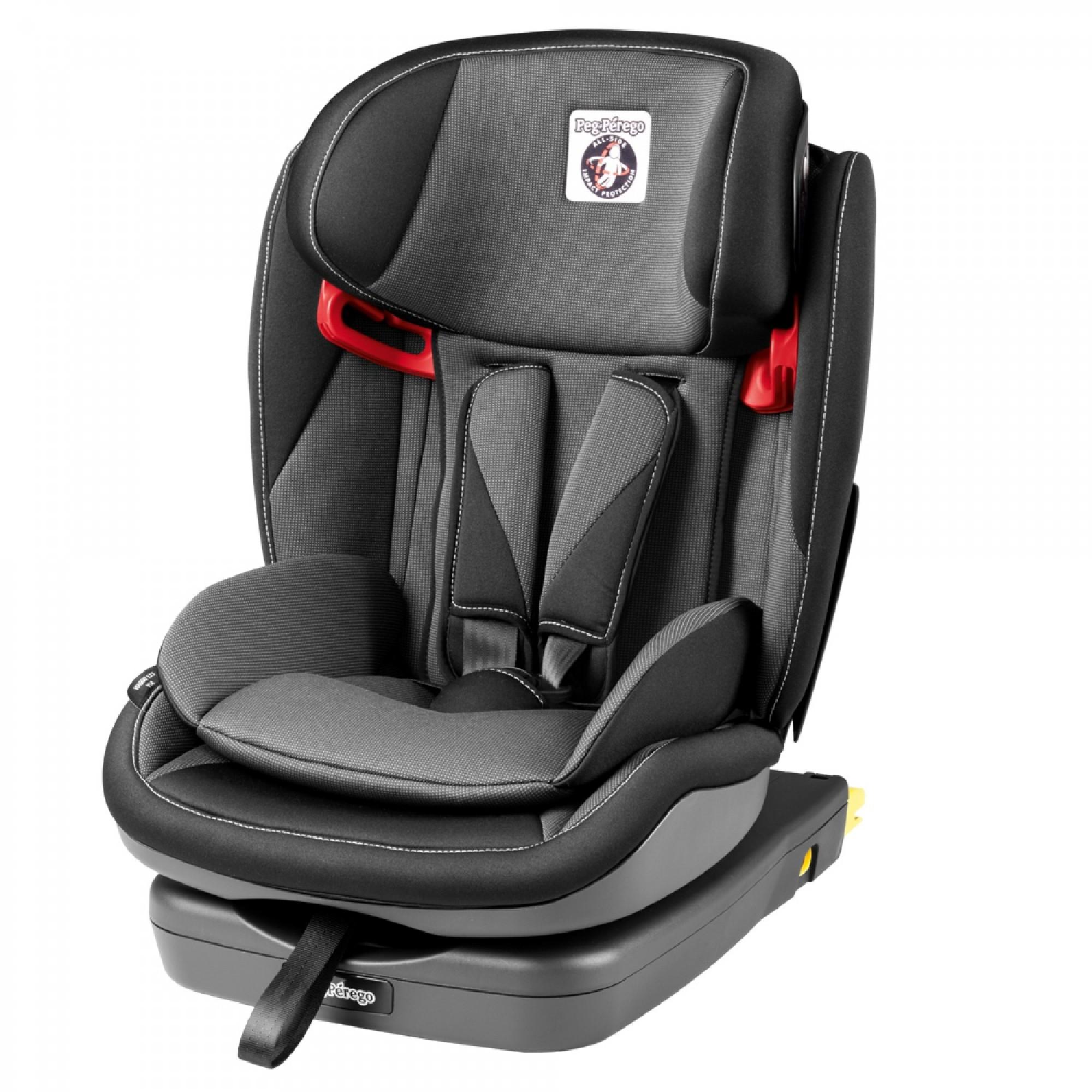 Scaun Auto Viaggio 1-2-3 Via Crystal Black, Peg Perego - produs resigilat