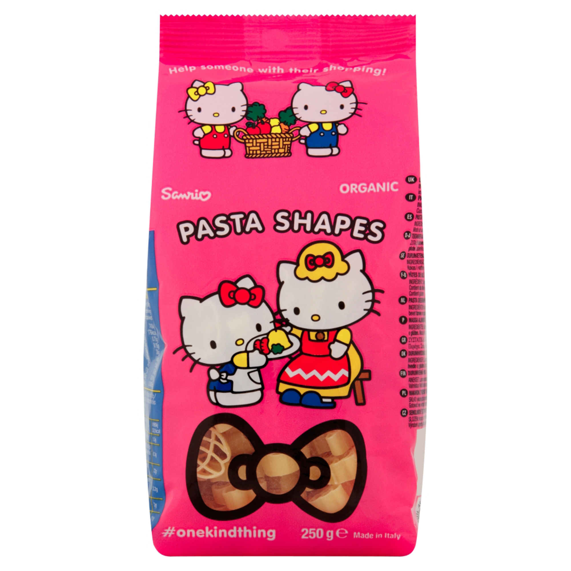 "Paste organice ""Hello Kitty"", 250g, 12luni+, Annabel Karmel"