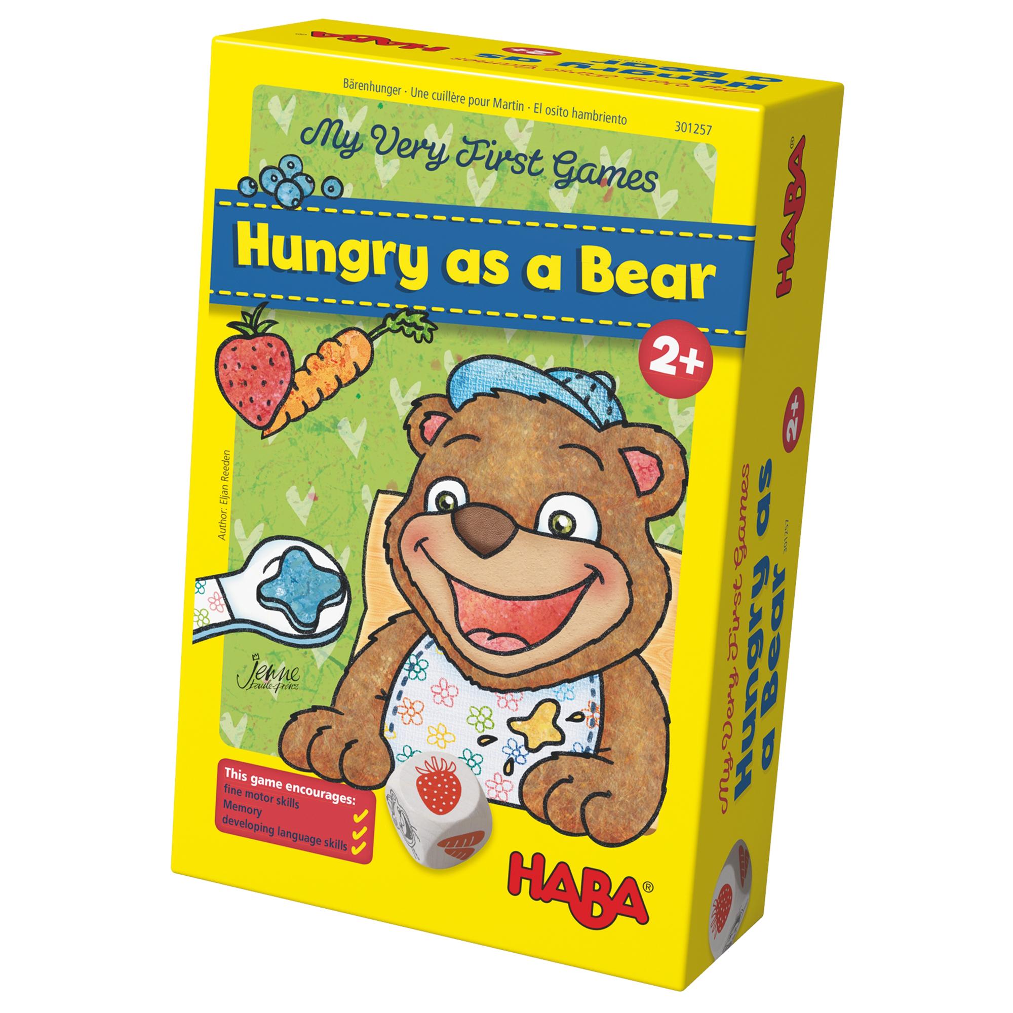 Joc de memorie, Haba, Primul meu joc - Ursuletul flamand, 2ani+