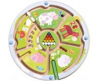 Joc magnetic, Haba, Labirintul numerelor, 2ani+
