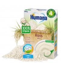 Cereale Humana ECO, Orez fara lapte, 200 g, 4 luni+