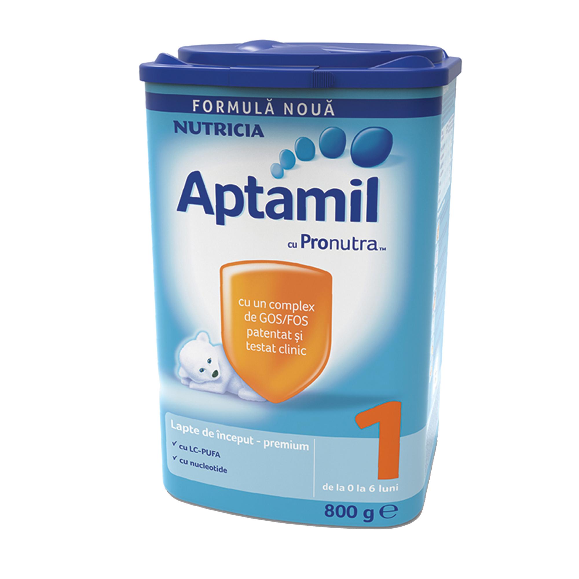 Lapte praf Nutricia, Aptamil 1, 800g, 0-6 luni