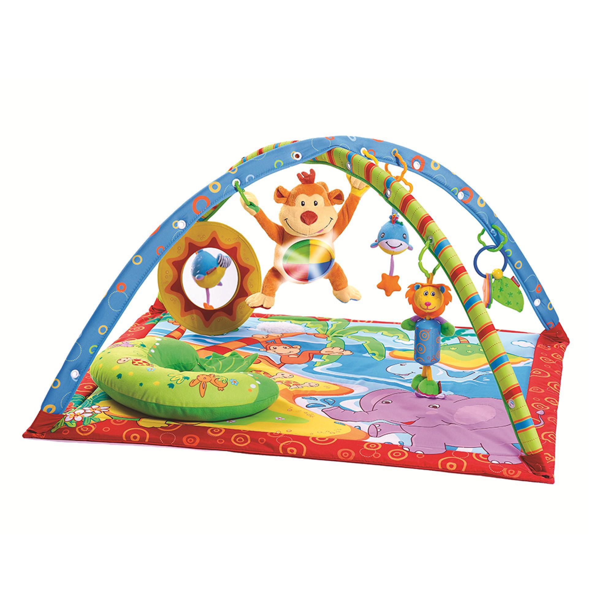 Centru de joaca Gymini® Insula Maimutelor, Tiny Love