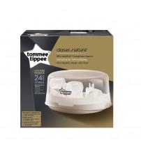 Sterilizator Biberoane Pentru Cuptorul Cu Microunde, Tommee Tippee