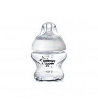 Biberon Closer to Nature, Tommee Tippee, sticla, 150ml
