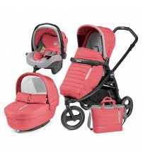 Carucior 3 in 1, Peg Perego, Book Scout, Matt Black, Elite