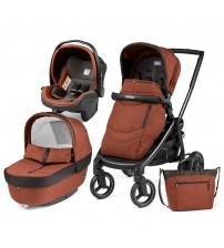 Carucior 3 in 1 Black Mat Team, Peg Perego