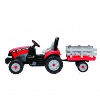 Tractor Maxi Diesel, Peg Perego, w/trailer