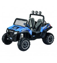 Masina Polaris Ranger RZR 900, Peg Perego, Blue