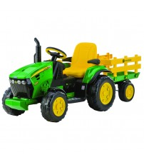 JD Ground Force, Peg Perego, w/trailer