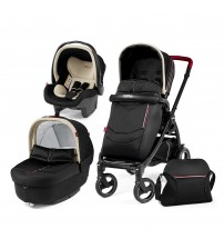 Carucior 3 in 1 Book Plus Modular Fiat 500, Peg Perego
