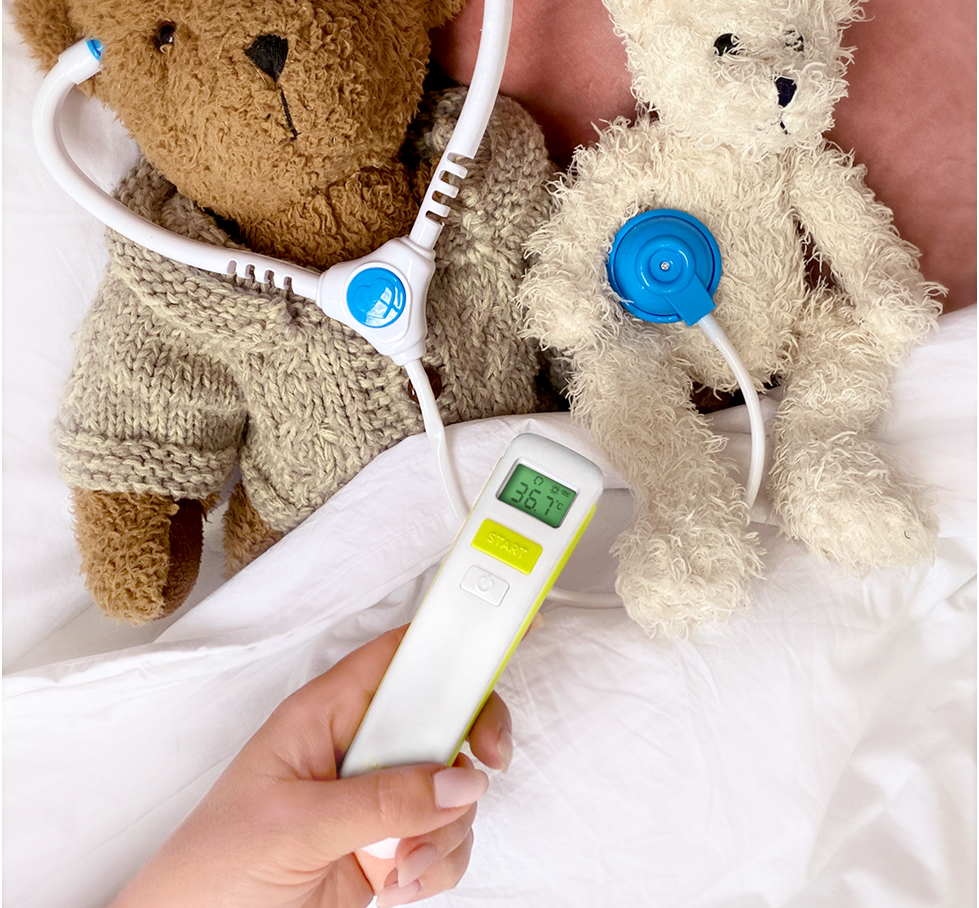 termometru non-contact copii