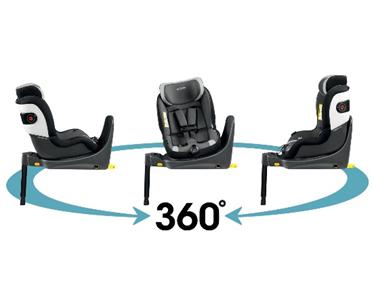 rotire 360 scaun auto pentru copii