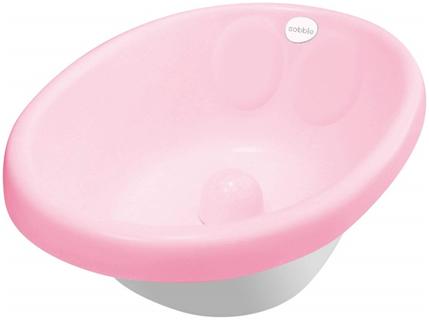 cadita de baie bebe roz