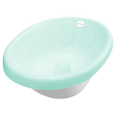 cadita de baie bebe verde